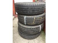 4 tyres good condition 195/65r15 £20