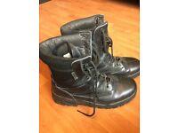 Patrol Boot - All Leather unisex – Black size 9 uk