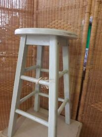 Kitchen Dining Room Solid Wooden Stool 2 Available