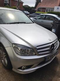 Mercedes c220 AMG body kit