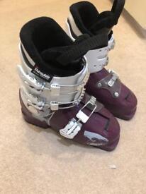 Children's ski boots 22.0-22.5