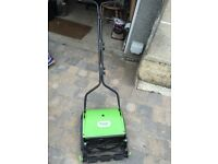 Push lawnmower , made by Handy . Really good for a quick cut .
