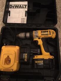dewalt 14v cordless power drill