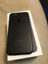 iPhone 7 128gb Matt black Unlocked