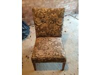 X2 bedroom chairs