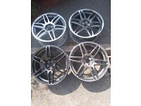 "19"" alloys need refurb project see pics"