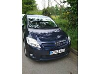 Toyota Auris 2012 1.6 V manual hatchback VERY LOW MILEAGE