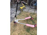 Y-flicker scooter