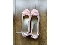 Pink girls shoes size 11
