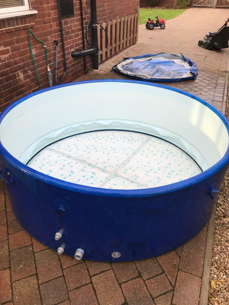 lazy spa monaco 6 8 person hot tub jacuzzi in methley. Black Bedroom Furniture Sets. Home Design Ideas