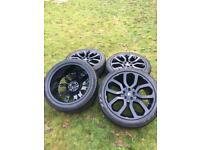 "22"" Range Rover Sport Vogue Discovery Alloy Wheels Pirelli Tyres Autobiography Rims"