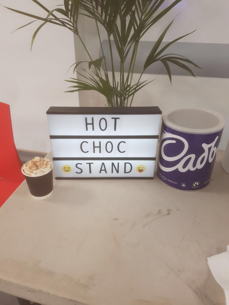 Hot Choc Cart 😍 For Hire With Staff 😍 Hot Chocolate ☕️