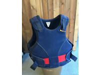 Aerowear Reiver Elite Horse riding body and spine protector Size adult X/small or large child