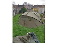 Chub cyfish 2man bivvy, used once in France, pick up only