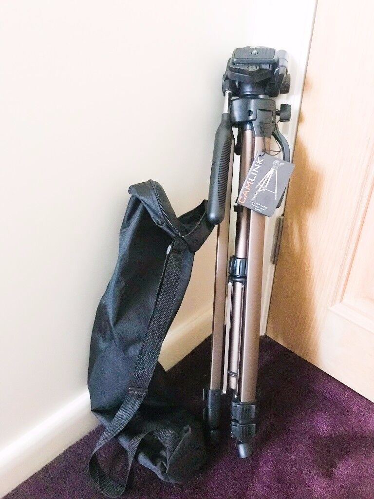 CAMLINK Tripod 62-156cm As New - Get It Now!!!