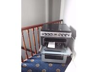 Stoves Newholme 600 Gas Cooker SI DLm silver