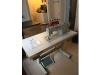 Wimsew Mechanical sewing machine including professional makers tabl