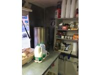 Food trailer with license and pitch for sale in Birmingham market