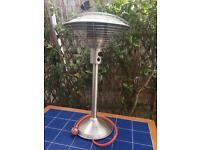 Patio heater - Sahara stainless steel
