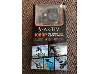 B-Aktiv 1080 Pro Sport Hd action camera with wi fi