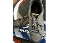 Skechers street wear brown shoes, boys