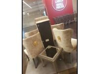 Tk max chairs lilac and gold