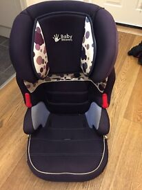 Car seat group 2/3 - 4 to 12 years