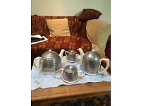 Teapot, Coffeepot, sugar bowl and milk jug
