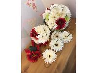 Wedding flower bouquet set