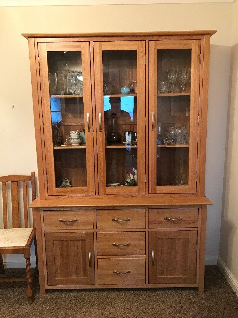 Solid Oak Dining Room Dresser