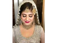 Asian Bridal MUA - Party makeup and hairstyles - Makeup Artist - Leeds Bradford price from £25