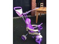 smart trike -4way smart trike purple