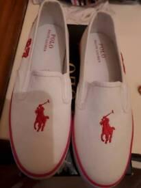 Ralph Lauren girls shoes