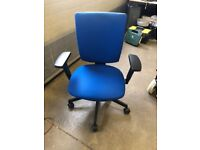 office furniture senator blue office chairs fully adjustable