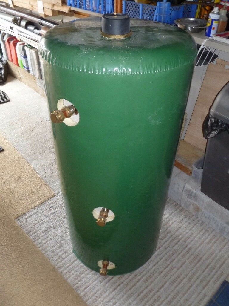 Hot water cylinder - AS NEW - 140 L - Indirect, vented, stainless ...