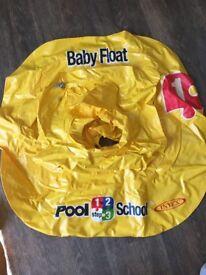 Intex 1-2-3 Pool School Deluxe Baby Float