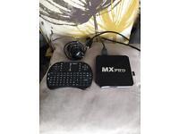 Mx pro tv box