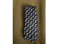 Emilio Pucci electric pattern tie