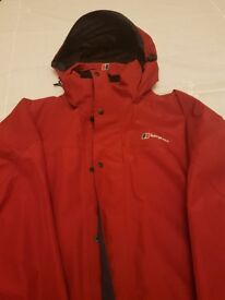 Berghaus gortex outdoor coat