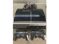 PS3 Console 80GB with 2 Controllers