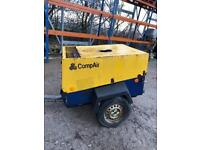 Diesel Compressor Towable Compair C20 Kubota Engine