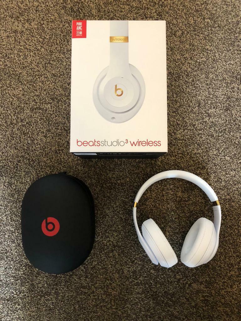 Beats Studio 3 Wireless Headphones White And Gold In Clayton West Yorkshire Gumtree