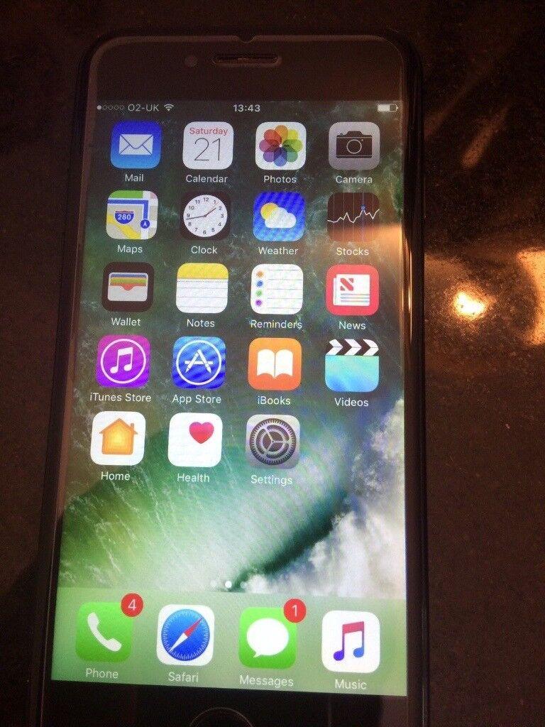 Apple iPhone 7 256GB Jet Black Unlocked Smartphone