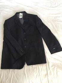 Men's Blue Pinstripe Jacket 46ins Medium length