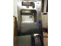 1½ Blanco kitchen sink 120cm