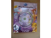 "Disney Read-Along Stories ""My Favourite Friends"", Including CD"