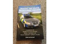 2x books Passing the police recruitment process
