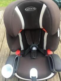 Graco nautilius car seat