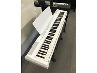 Pre Loved Yamaha P115 Digital 88 Note Portable Weighted Piano