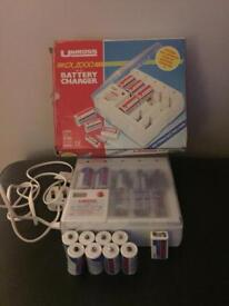 Battery charger station